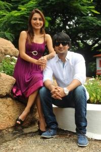 Jayanth, Dhrithi Film Opening Photos