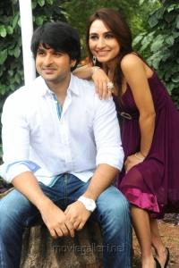 Actor Jayanth, Actress Dhriti Movie Launch Stills