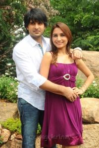 Actor Jayanth, Actress Dhriti at NSR Films Movie Opening Stills