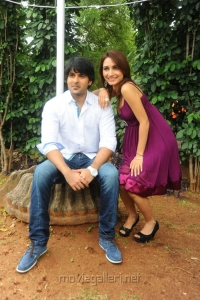 Hero Jayanth, Heroine Dhriti Movie Launch Stills
