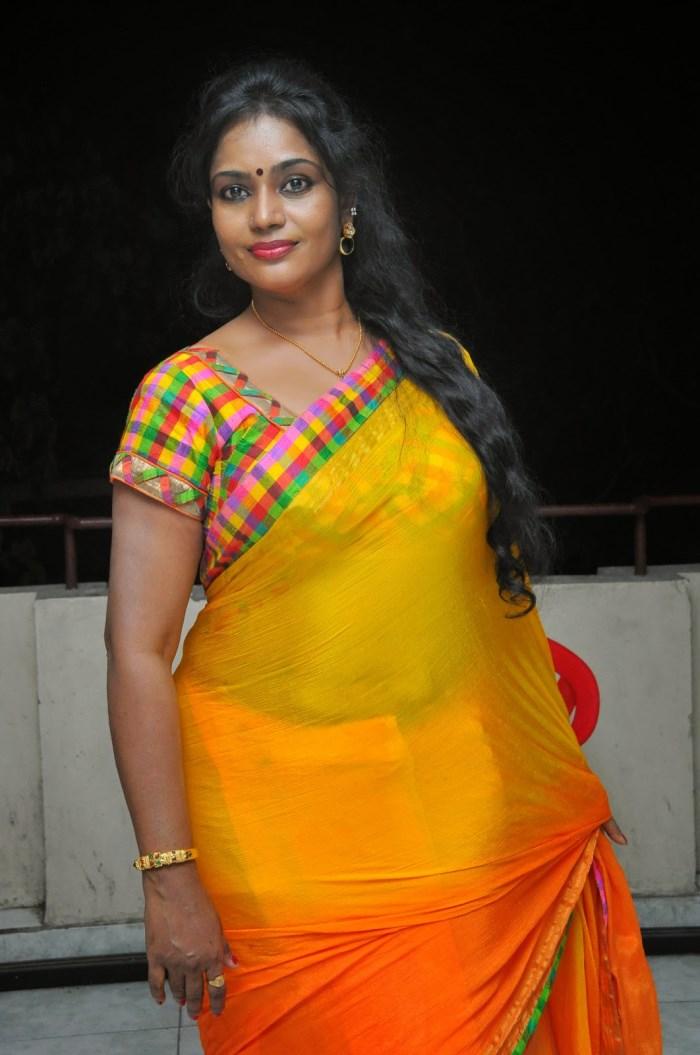 ... Jayavani Hot Saree Stills @ Andamaina Maya Audio Launch | New Movie