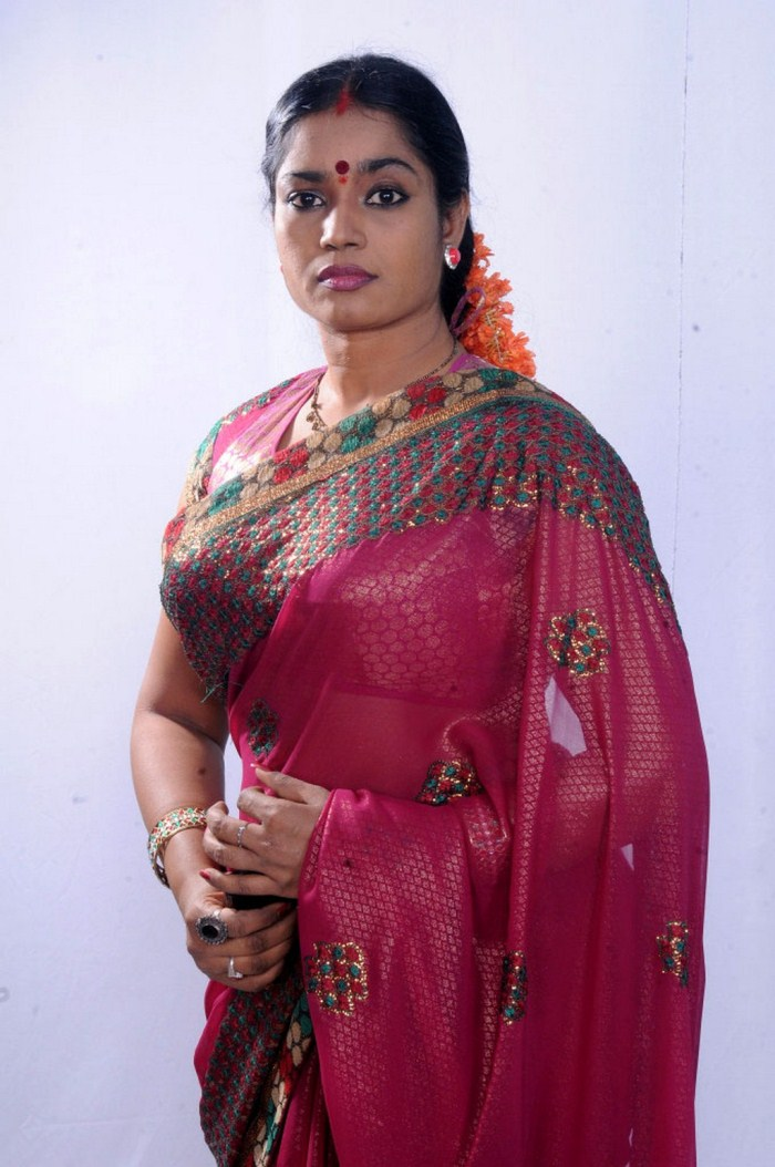 Picture 376983   Actress Jayavani Hot in Saree Photoshoot ...