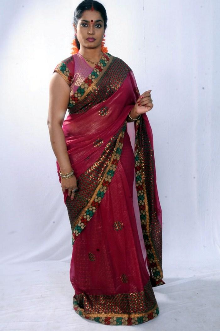 Actress Jayavani in Saree Photoshoot Stills | New Movie ...