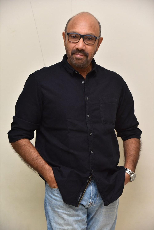 Actor Sathyaraj @ Jersey Movie Pre Release Function Stills