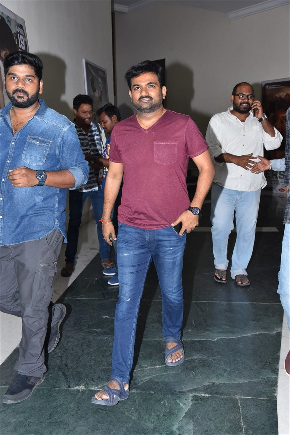 Maruthi @ Jersey Movie Pre Release Function Stills
