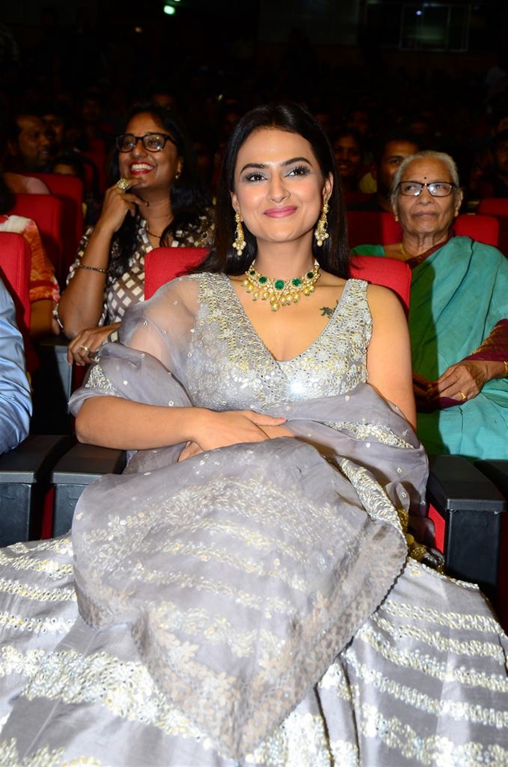 Actress Shraddha Srinath @ Jersey Movie Pre Release Function Stills