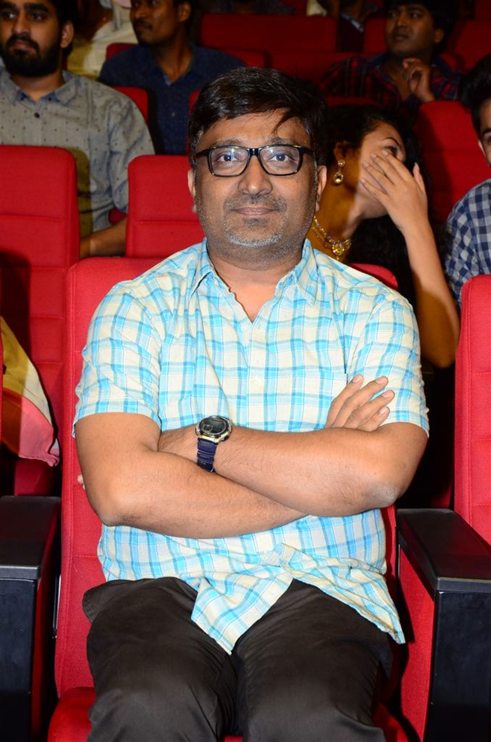 Indraganti Mohan Krishna @ Jersey Movie Pre Release Function Stills
