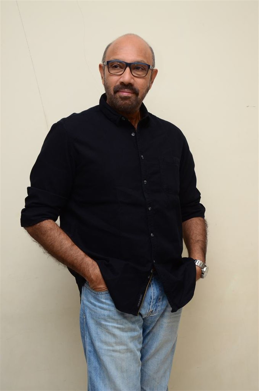 Actor Sathyaraj @ Jersey Movie Pre Release Function Stills