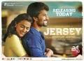 Nani, Shraddha Srinath in Jersey Movie Release Today Posters