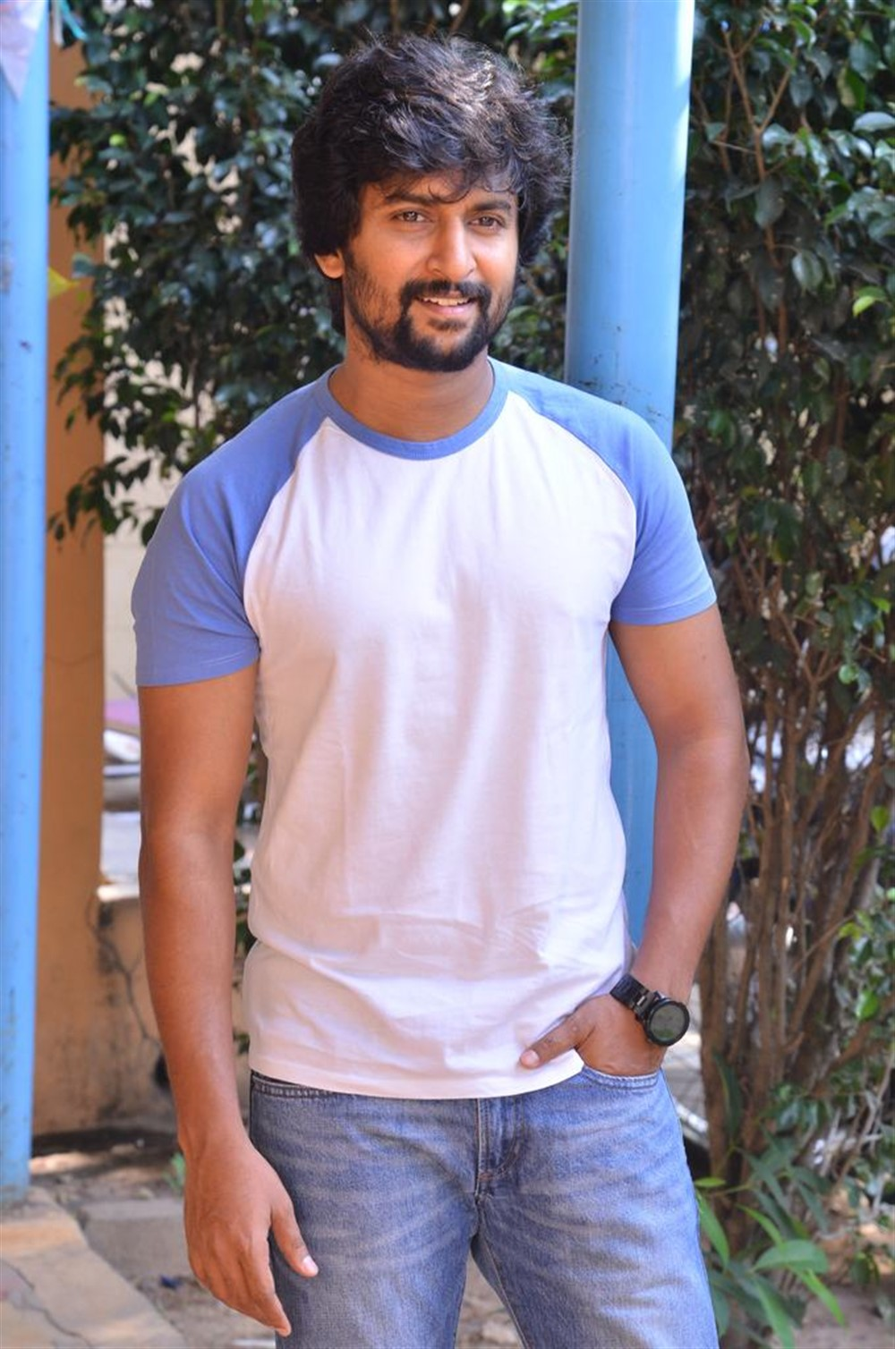 Jersey Movie Actor Nani Interview Pictures