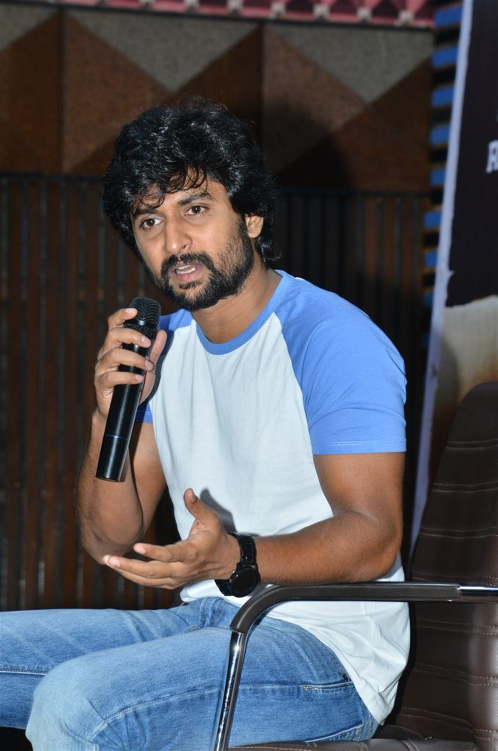 Jersey Hero Nani Interview Pictures