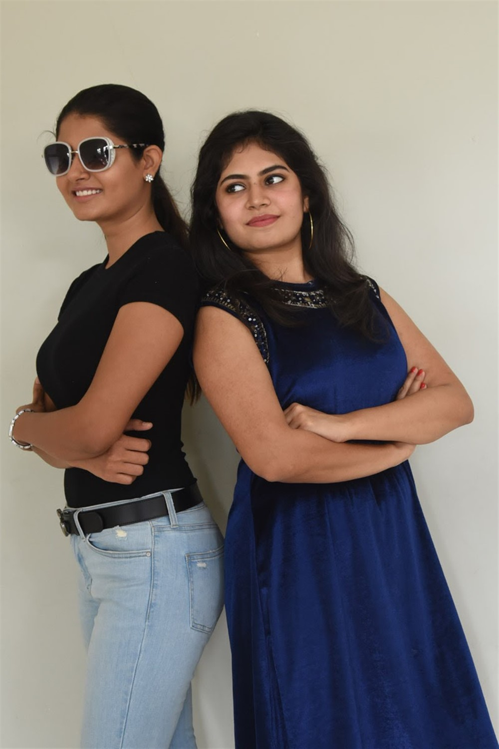Ashima Narwal, Sitha Chandana @ Jessie Movie Press Meet Stills