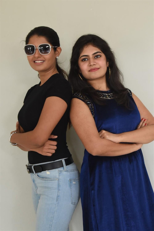 Ashima Narwal, Sitha Chandana @ Jessie Movie Press Meet Stills