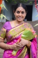 Actress Saranya Ponvannan @ Jeyikkira Kudhira Movie Launch Stills