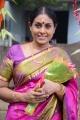 Actress Saranya Ponvannan @ Jeyikkira Kudhira Movie Launch Stills