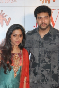 Jayam Ravi wife Aarthi at JF Women Achievers Awards 2012 Stills