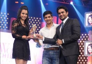 Trisha, Jeeva, Madhavan at JFW Women Achievers Awards 2013 Function Photos
