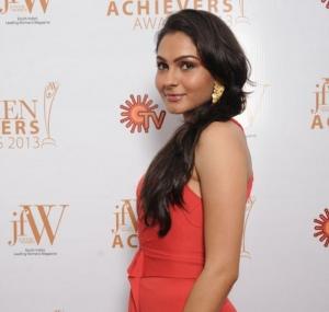 Andrea Jeremiah at JFW Women Achievers Awards 2013 Function Photos