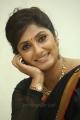 Telugu TV Anchor Jhansi Laxmi in Black Saree Pics