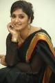 Telugu Anchor Jhansi Laxmi in Black Saree Pics