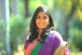 Telugu TV Anchor Jhansi Laxmi in Saree Photos