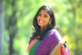 Telugu TV Actress Jhansi Laxmi in Saree Cute Photos