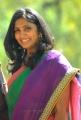 Telugu Actress Jhansi Saree Latest Photos