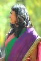 Telugu TV Actress Jhansi Laxmi in Tussar Silk Saree Cute Photos