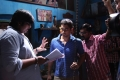 Karthik Subbaraj, Siddharth @ Jigarthanda Movie Working Stills