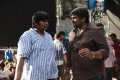 Director Karthik Subbaraj @ Jigarthanda Movie Working Stills