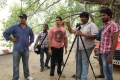 Siddharth, Karthik Subbaraj @ Jigarthanda Movie Working Stills