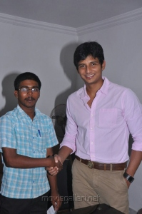 Jiiva Press Meet for Education Sponsor For A Student