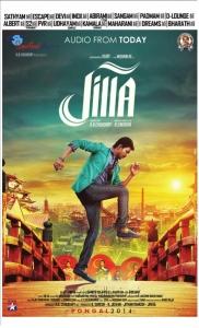 Actor Vijay in Jilla Audio Release Posters