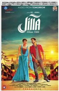 Kajal Agarwal, Vijay in Jilla Audio Release Posters