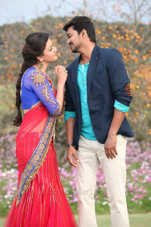 Picture 641633 | Kajal Agarwal, Vijay in Jilla Movie New ...