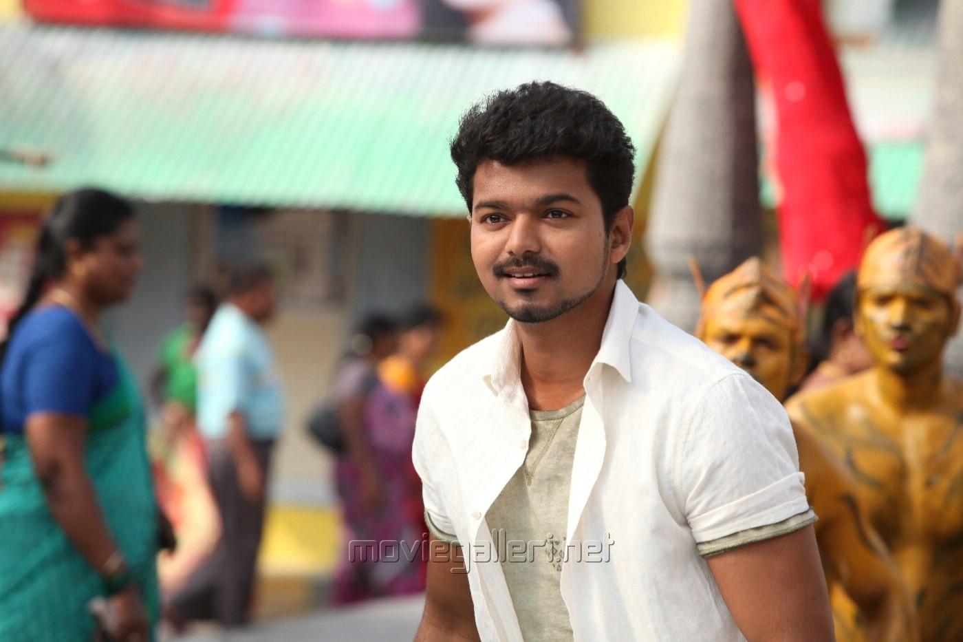 Picture 641641 | Actor Vijay in Jilla Movie New Stills ...