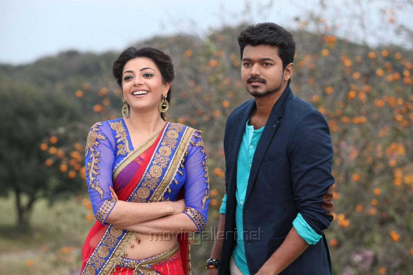 Picture 641645 | Kajal Agarwal, Vijay in Jilla Movie New ...