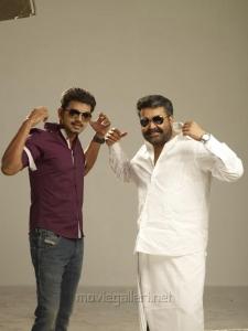 Vijay, Mohanlal in Jilla Movie Photo Shoot Images