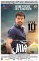 Actor Vijay in Jilla Movie Release Posters