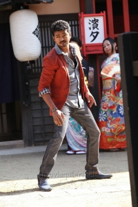 Actor Vijay in Jilla Telugu Movie Photos