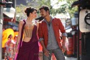 Kajal Agarwal, Vijay in Jilla Telugu Movie Photos