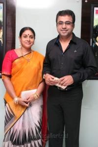 Saranya, Ponvannan @ JK Enum Nanbanin Vaazhkai Audio Launch Stills