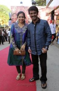 Tamilachi Thangapandian, Cheran @ JK Enum Nanbanin Vaazhkai Audio Launch Stills