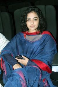 Nithya Menon @ JK Enum Nanbanin Vaazhkai Audio Launch Stills