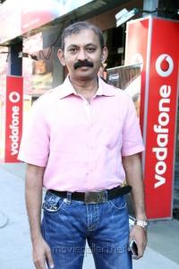 Radha Mohan @ JK Enum Nanbanin Vaazhkai Audio Launch Stills