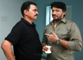 Sayaji Shinde, Prashanth in Johnny Tamil Movie Pictures