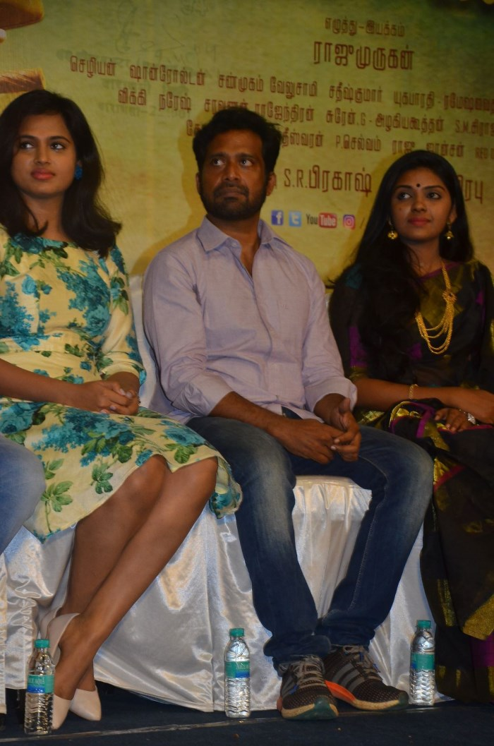 Ramya Pandian, Guru Somasundaram, Gayathri Krishna @ Joker Movie Press Meet Stills