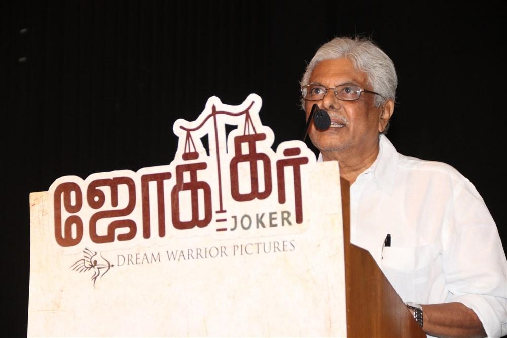 Editor Mohan @ Joker Movie Thanks Giving & Success Meet Stills