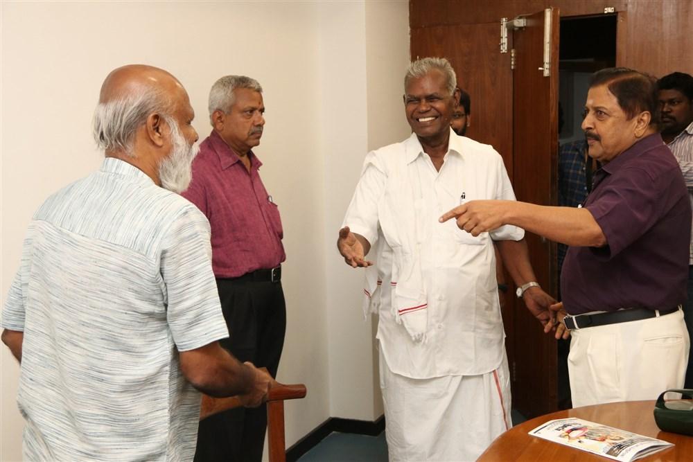 Nallakannu @ Joker Movie Thanks Giving & Success Meet Stills