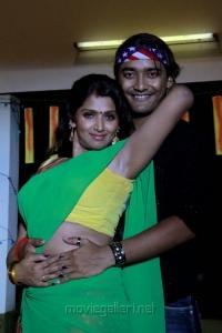 Bhuvaneswari Hot in Jolly Ga Enjoy Cheddam Movie Stills